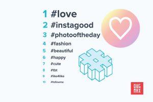 100 Hashtags Instagram giúp bạn tăng lượt like tốt nhất 2019