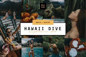 Lightroom Preset Hawaii Tropical