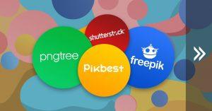 Mua chung tài khoản Premium Creative Market, Pngtree, Pikbest, Shutterstock, Freepik ...
